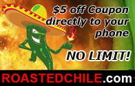 Coupon at Roasted Chili