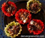 Bacon Chile Appetizer Cups