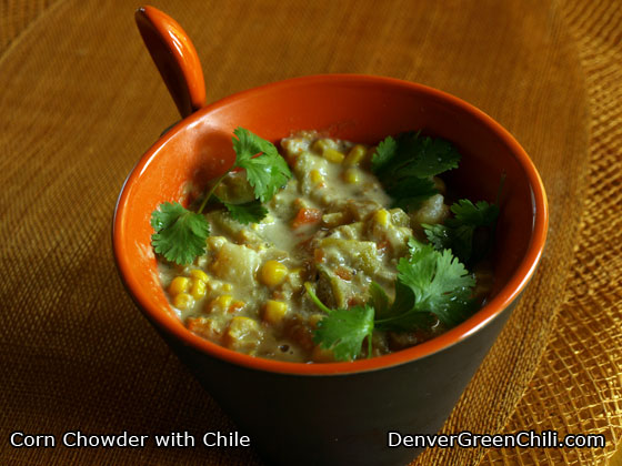 and cod chowder healthy corn chowder corn chowder with chilies recept ...