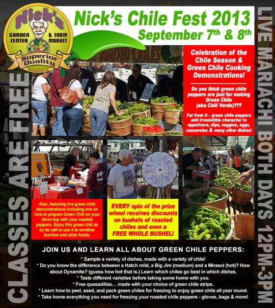 Nick 39 S Garden Center Green Chili Cookoff Denver Green Chili