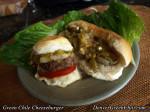 Buckhorn Green Chile Cheeseburger