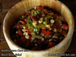 Southwestern Seared Corn, Chile, and Black Bean Salad