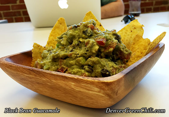 Black Bean Guacamole Denver Green Chili