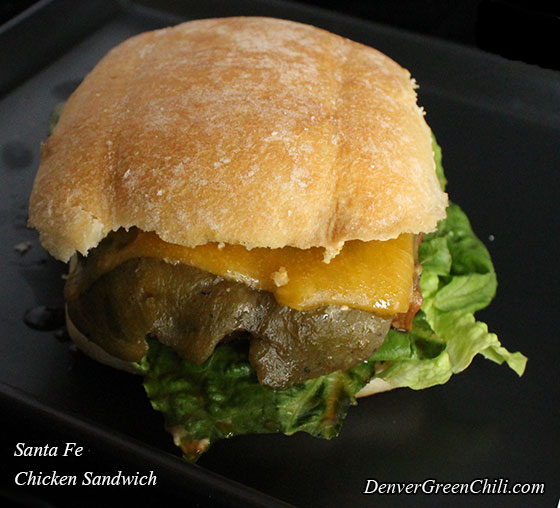 Denver Sandwich: Santa Fe Chicken Sandwich