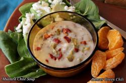 Mustard Chile Cream Soup