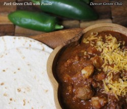 Helen's Pork Green Chili and Posole