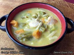 Southwestern Creamy Chicken Vegetable Soup