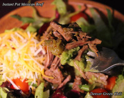 Mexican Beef in a Pressure Cooker