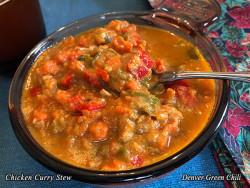 Coconut Chicken Curry Stew