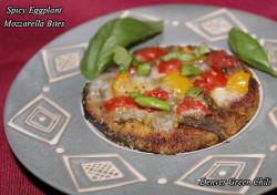 Spicy Eggplant Bites