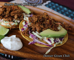 Simple Street Chicken Tacos