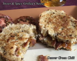 Sweet & Spicy Bacon Grilled Cheese