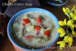 chunky celery soup