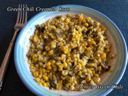 Green Chile Creamed Corn