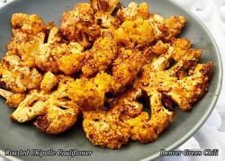 Roasted Chipotle Cauliflower