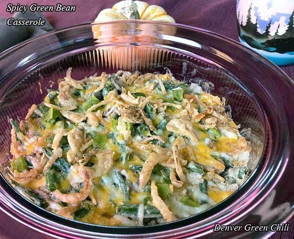 Spicy Green Bean Casserole