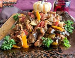 Spicy Sausage Ratatouille