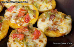 Chorizo Chile Polenta Bites