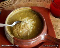 Mushroom Chile Soup