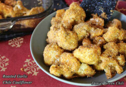 Roasted Garlic Chile Cauliflower