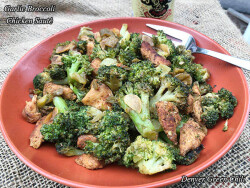 Garlic Broccoli Chicken Sauté